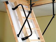 Поручень металлический для ножничной лестницы LSF