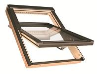 Мансардное окно PTP GO U3 ПВХ золотой дуб PTP-VGO U3 ПВХ золотой дуб с вентклапаном