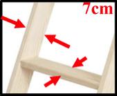 Параметры лестницы чердачной OptiStep