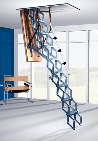 Автоматическая чердачная лестница Roto Elektro