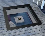 Fakro DXW DW6 окно, по которому можно ходить